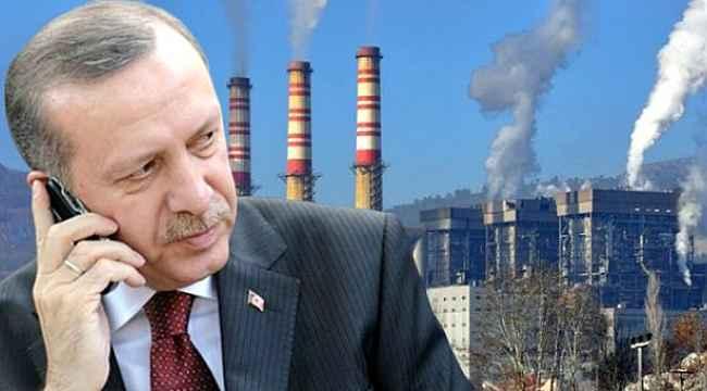 Cumhurbaşkanı Erdoğan'ın Afşin-Elbistan Termik Santrali'nin sahibiyle telefon görüşmesi ortaya çıktı
