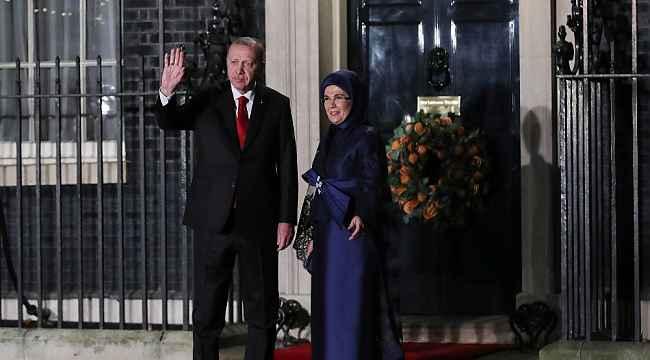 Cumhurbaşkanı Erdoğan, liderler akşam yemeğine katıldı