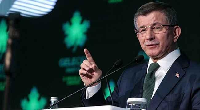 Davutoğlu'nun Gelecek Partisi'yle ilgili ilk anket rakamları geldi!