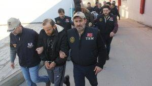 DEAŞ operasyonunda gözaltına alınan 6 kişi adliyeye sevk edildi