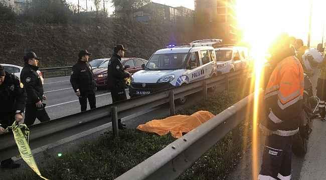 E- 5 Karayolunda şok eden ölüm