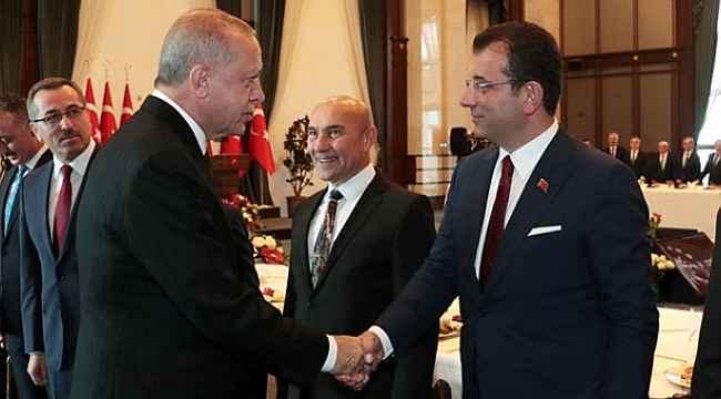 Ekrem İmamoğlu'ndan Erdoğan'ın