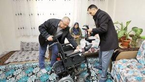 Engelli anne, artık çocuğunu okuldan alabilecek