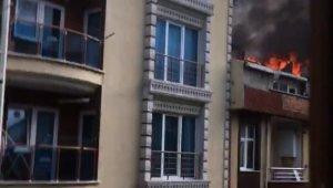 Ev sahibine kızdı, boşalttığı evi yaktı
