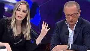 Fatih Altaylı Hande Sarıoğlu ile tartıştı, stüdyoyu terk etti
