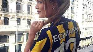 Fenerbahçelilerin sevgilisi Aly Eckman, pozlarıyla Instagram'a meydan okudu