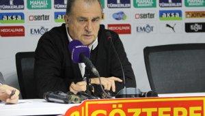 """Göztepe - Galatasaray maçı sonrası Fatih Terim'dan açıklama: """"Ben dahil hepimiz bu gidişatın bedelini ödeyeceğiz"""""""