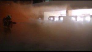 Havaalanında yangın çıktı, uçak düştü - Bursa Haberleri