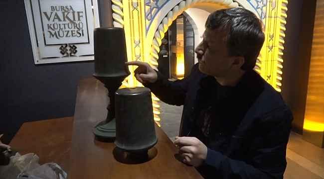 Hayırsever iş adamı devreye girdi, hurdacıdaki tarihi eserler müzeye bağışlandı - Bursa Haberleri
