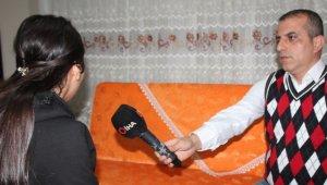 HDP önünde evlat nöbet tutan anne Hüsniye Kaya'nın kızı Mekiye Kaya'da evine döndü