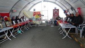 HDP önündeki ailelerin evlat nöbeti 112'nci gününde