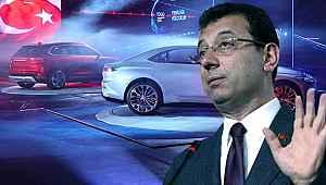 İBB Başkanı Ekrem İmamoğlu'ndan yerli otomobile bir destek daha!
