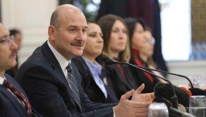 """İçişleri Bakanı Soylu: """"Bu yıl 318 kadın cinayeti mağduru var"""""""