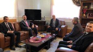 İl Tarım Müdürü Aygül'den Başkan Aydın'a Ziyaret - Bursa Haberleri