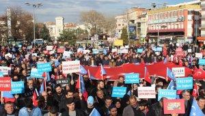 İnegöllüler Doğu Türkistan için yürüdü - Bursa Haberleri