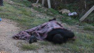 İntihar eden arkadaşlarını battaniyeye sarıp yol kenarına attılar