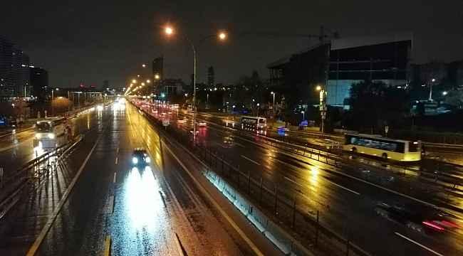İstanbul'da yağmur etkili oluyor