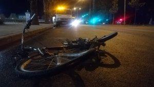 İzmir'de feci kaza: Bisiklet sürücüsü metrelerce sürüklendi