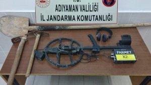 Kaçak kazı yapanlara suçüstü: 2 gözaltı
