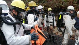 Kaçak ocakta mahsur kalan işçilerin kurtarma çalışmaları sürüyor