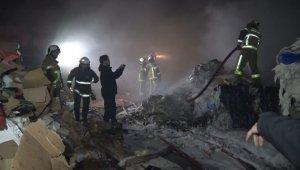 Kağıt fabrikasında korkutan yangın, 10 kişi ölümden döndü - Bursa Haberleri