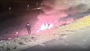 Kahraman polisler... Alevlerin arasına girerek kurtardılar