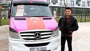 Kanserden vefat eden Neslican Tay'ın sözünü yazan minibüsçü yazdı, sosyal medyada paylaşım rekoru kırdı