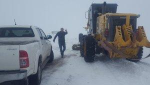 Karda kaybolan şahsı arama çalışmaları yeniden başladı