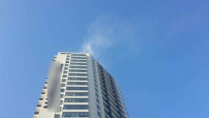 Kartal'da 26 katlı rezidansta yangın paniği