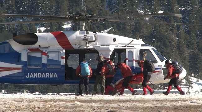Kayıp dağcıları aramak için 40 kişilik özel tim helikopterle bölgeye sevk edildi - Bursa Haberleri
