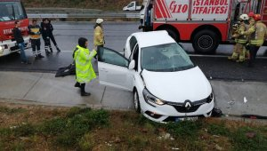 Kuzey Marmara otoyolunda feci kaza