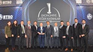Limak Enerji'ye çifte ödül - Bursa Haberleri