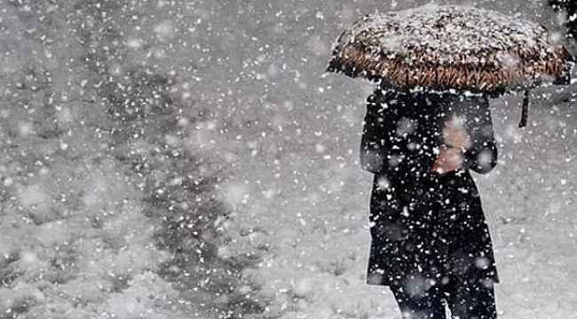 Meteoroloji'den kar ve yağış uyarısı! 8 Aralık 2019 Hava Durumu
