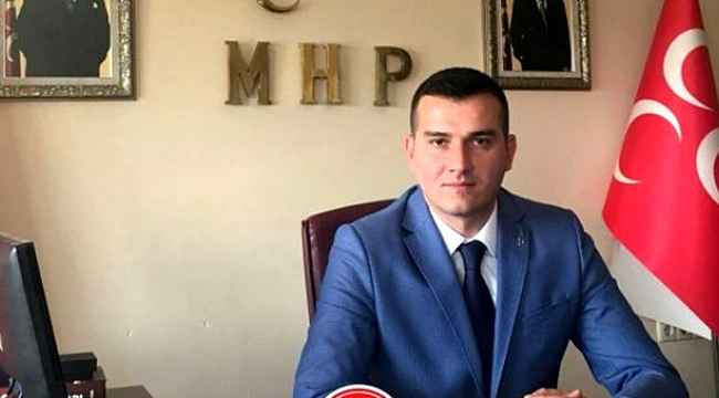 MHP İl Başkanı Burak Pehlivan'dan açıklama