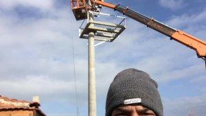 MHP İl Başkanı elektrik akımına kapılarak ağır yaralandı
