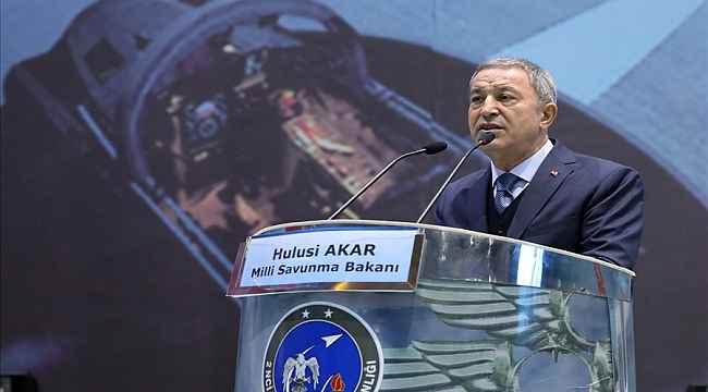 """Milli Savunma Bakanı Akar: """" Ülkemize ve milletimize karşı kabul edilmesi imkansız iddialar söz konusu"""""""