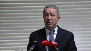 """Milli Savunma Bakanı Akar, """"Uluslararası hukuk çerçevesinde yapıldı"""""""