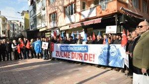 Mustafakemalpaşa Doğu Türkistan için tek ses oldu - Bursa Haberleri