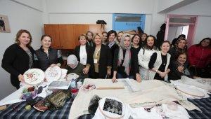 Nilüfer Belediyesi'nden Altınşehirli kadınlara destek - Bursa Haberleri