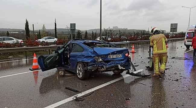 Otobanda su birikintisi faciası... Sürücü sıkışarak öldü - Bursa Haberleri