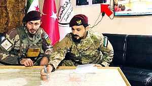Özgür Suriye Ordusu'nun karargahında dikkat çeken detay