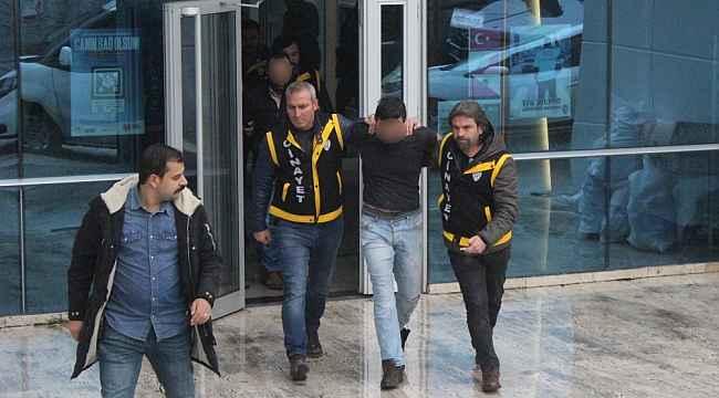 Polisi vuran zanlı adliyeye sevk edildi - Bursa Haberleri