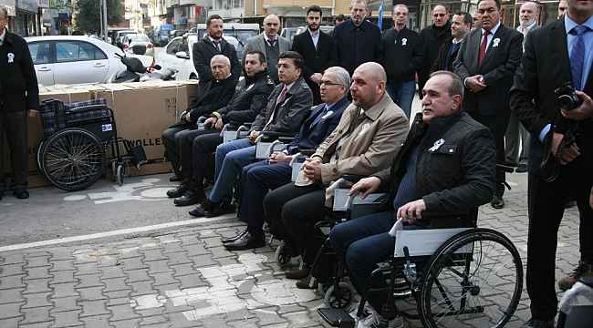 Protokol koltuğu tekerlekli sandalye oldu - Bursa Haberleri