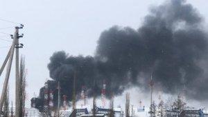 Rusya'dan diğer ülkelere petrol pompalayan tesiste patlama