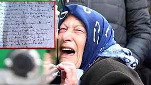 Satırla öldürülen kadının çantasından çıkan mektup yürek burktu