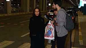 Sertap Erener, kendisini görüntüleyen muhabirlere bağırdı