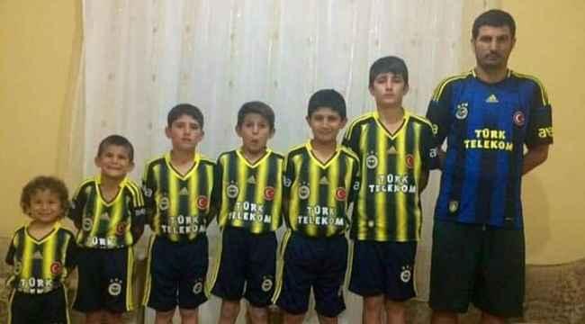 Sosyal medyada yankılanan fanatik Fenerbahçeli aile
