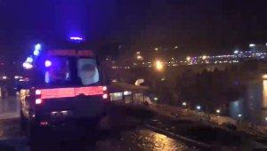 Tarihi köprüde genç kadının intihar girişimi! Son anda kurtarıldı