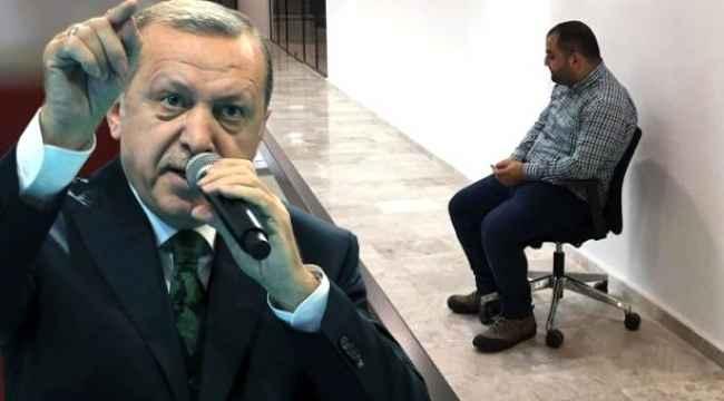 Tepki çeken olaya Erdoğan'dan zehir zemberek sözler