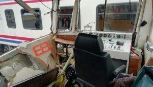 Tren rayında kaza: 1 ölü 3 yaralı